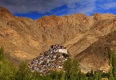 Monastery (Arun Sundar) Tags: india mountain nature canon sigma hills monastery leh hdr arun ladakh thiksey jammuandkashmir exposureblending canon7d exposurefusion arunsundar
