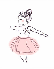 Ballerina 1 (Cristina de Lera) Tags: illustration ink drawing dibujo tinta ilustracin