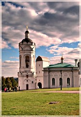 (Serge 585) Tags: old city autumn sky tower art history church architecture religious cathedral russia moscow religion histoire antiques russian orthodox architettura
