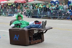 2013 St. Patrick's Day Parade (dougclemens) Tags: saint st louis chair day patrick parade reclining motorized 2013 d5100