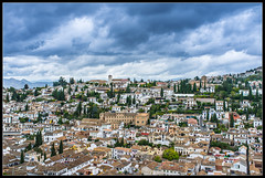El Albaicn desde la Alhambra (salvadorfornell) Tags: espaa photography photo foto monumento alhambra granada historia fotografa maravilla rabe salvadorfornell
