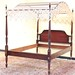 120. Very Fine Federal Style Mahogany Tester Bed