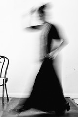 dancer |coal series| (Nassia Kapa) Tags: blackandwhite blur festival dance dancer feeling flamenco nassiakapa