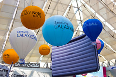 Samsung Balloons (stuckinseoul) Tags: world travel beautiful lens geotagged asian photography photo cool interesting asia forsale image quality background gorgeous stock photojournalism korea canonef50mmf18 korean photograph seoul stunning fabulous southkorea coex stockphoto photojournalist   corea  highquality canoneos6d stuckinseoul