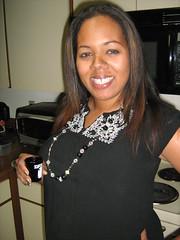 Shots Shots Shots (grindhouseproductions1983) Tags: woman black kitchen girl drunk shots jewelry liquor patron scarface