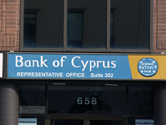Bank of Cyprus' former Toronto Representative Office (Canadian Pacific) Tags: toronto ontario canada cyprus bank canadian greektown 658 banking cypriot danforthavenue bankofcyprus bankology ap1060703