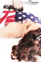 Americana Boudoir (lindseypowellphotography) Tags: americanflag boudoir americana armywife canonrebelt2i