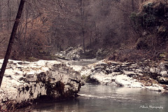 River (oki_jappo) Tags: life bridge light shadow italy white snow mountains art ice nature water clouds photoshop canon river landscape happy lights nice italia autum withe fiume natura enjoy luci acqua montagna luce friuli landascape udine cividale camminare felicit