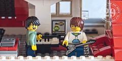 new guitar (Sharon Linne Faulk) Tags: usa macro toys lego florida wesleychapel projectlife topazadjust capture365