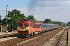 418177 Taborfalva (Gridboy56) Tags: mav 418 418177 2923 railways railroad trains train locomotive locomotives ganz taborfalva budapest lajosmizse budapestnyugati