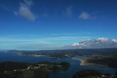 Nubes sobre la Ria de Ortigueira (nora4santamaria) Tags: nwn nubes 7dwf galicia azul blue