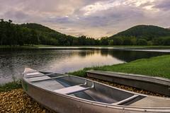 800_7784 Ferndale (snolic...linda) Tags: arkansas 501 littlerock ferndale night reflections lake canoe