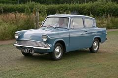 1963 Ford Anglia (davocano) Tags: 899flb 105e capelclassiccarshow capelsurrey