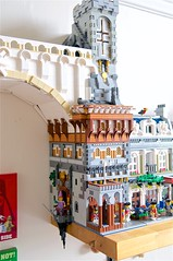 Eastern Entrance (mcmorran) Tags: lego bridge constantinebridge modularbuildings florentine
