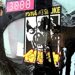 Berlin (PSYCO ZRCS 10/12) Tags: sticker stickers stickerart stickerporn stickerlife stickerculture street art slaps slap tagging vinyl graffiti tags paint bombing worldwide psyco tsmoke