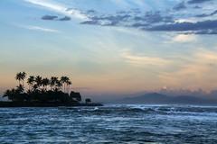 Palmiers (Pillg) Tags: palmier lembongan bali indonesie sunset colors couch soleil ciel mer vagues ocan sea waves nikon d7100