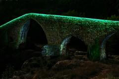 Pont de Sant Quirze de Pedret (GREGORI MORENO) Tags: santquirzedepedret pontdepedret pedret lightpainting