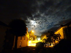 THE MOON AND CLOUDS OVER GILFORD (Monkiiiey Henry Clark) Tags: the moon and clouds over gilford