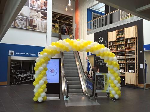 Ballonboog 8m Ikea Barendrecht