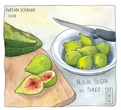 Feigen in Porec, Kroatien (KatrinMerle) Tags: katrinmerle kroatien feigen figs