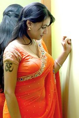 South Actress Madhuchandaphotos Set-3-Hot In Traditional Dress (44)