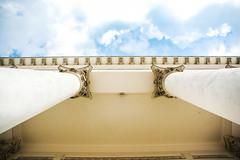 pillars (LiterallyPhotography) Tags: architektur himmel sule helsinki kirche