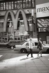 """New  York City"" (Tony Rowlett) Tags: street newyorkcity food wine streetphotography crab newyear tony rowlett leicam8 tonyrowlett"