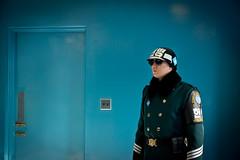 DMZ (forayinto35mm) Tags: soldier army travels asia sony korea seoul southkorea dmz northkorea guarding conferenceroom jsa dividedkorea sonyalpha southkoreansoldier koreansoldier demiliterizedzone sonya77 memiliterisedzone doortonorthkorea