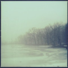 Air (phoenix_x_) Tags: winter mist lake texture ice water misty fog frozen dc pond foggy ethereal dreamy icy afterglow loftus iphone iphone4 iphoneography hipstamatic uploaded:by=flickrmobile flickriosapp:filter=nofilter