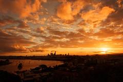 Brisbane Sunset, Australia