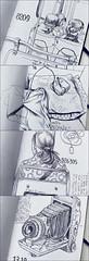 sketching the life 02 (fernandoforeroart) Tags: art moleskine pen paper pages drawing sketchbook fernando fernandoforero