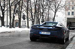 McLaren MP4-12C Spider (Frankenspotter Photography) Tags: blue canon munich mnchen eos spider dc britain blu d c 4 8 sigma convertible os spyder v turbo mclaren 200 british adrian editing mp 12 blau 18 cabrio brit 18200 supercar hof mp4 sportscar sportscars supercars 1100 roadster thelen biturbo promenadeplatz bayerischer 12c 1100d worldcars mp412c frankenspotter hsmv8