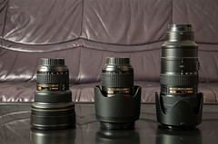 The Holy Trinity (Martin Osiadly) Tags: mos photography nikon fotografie martin 14 s mount holy trinity f 24 mm af nikkor 70 70200 glas afs 70200mm 2470mm objectives objektiv 2470 fmount objectiv 1424 vr2 objektive vrii 1424mm osiadly