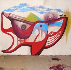 Dónde están las aguas, dónde están los parques? (Felipe Smides) Tags: chile mural pintura puentealto smides felipesmides