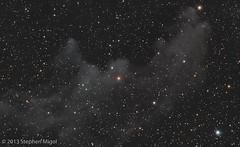 Witch Head Nebula (DRAFT) (S Migol) Tags: pentax workinprogress astrophotography astronomy draft astrophoto smigol pentaxk10d reflectionnebula ic2118 Astrometrydotnet:status=solved witchheadnebula stephenmigol stellarvuesv4 Astrometrydotnet:version=14400 copyright2013 Astrometrydotnet:id=alpha20130247462779