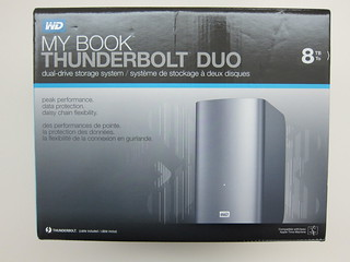 Western Digital My Book Thunderbolt Duo