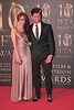 Roe and Eoin McDermot at Irish Film and Television Awards 2013 at the Convention Centre Dublin
