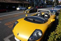 with Lotus211 & カニ目_DSC00816 (macco☆) Tags: nex5r renaultsportspider renault sport spider versautevent sautevent ルノー スポール スパイダー スピダー ソット ソットヴァン ソートヴァン car 車 クルマ 自動車 automobile auto renaultsport ルノースポール