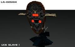 LEGO Custom Star Wars Kamino Platform with Slave I 6 (LA-Design2012) Tags: star 1 lego platform landing instructions pdf wars custom xml slave moc ucs kamino bauanleitung i ladesign