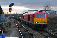 60020 (Steven Atkinson) Tags: dock central db class 60 tees rotherham schenker 60020 aldwarke 6n75