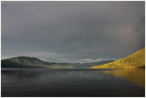 The lake Teletskoe