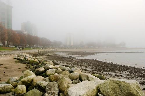 Foggy English Bay