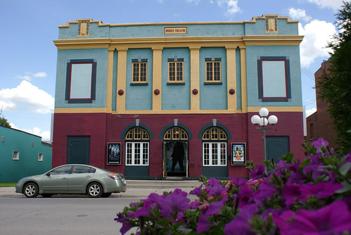 O'Brien movie theater - Arnprior, Ottawa Valley, Ontario, Canada