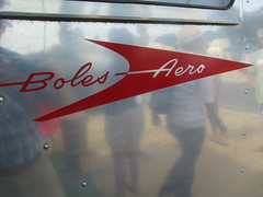 Boles Aero Trailer Logo  - 1953 (MR38) Tags: vintage tin can tourist trailer camper aero 1953 boles