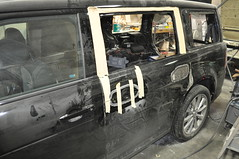 "2012 Ford Flex Rear Suicide Doors • <a style=""font-size:0.8em;"" href=""http://www.flickr.com/photos/85572005@N00/8499117158/"" target=""_blank"">View on Flickr</a>"