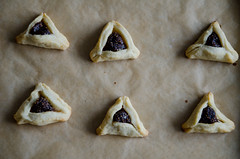 fig hamantaschen (sassyradish) Tags: cooking baking fig purim jewish kosher dairy sassyradish hamantaschen