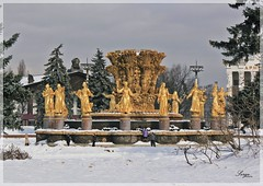 23 february (Serge 585) Tags: winter snow history fountain architecture frost neve histoire neige february fro freddo  froid architettura