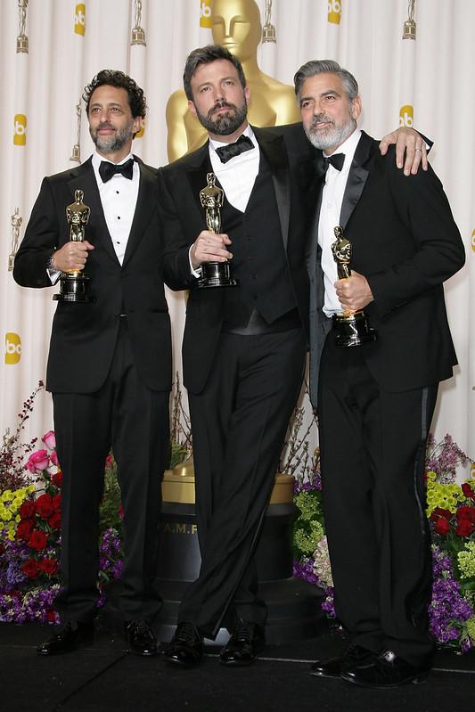 Grant Heslov,Ben Affleck,George Clooney - WENN.com