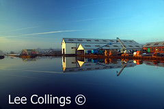 Stanley Ferry (Lee Collings Photography) Tags: water reflections canal symmetry aqueduct wakefield navigation waterreflections stanleyferry reflectionsoverwater reflectionsacrosswater
