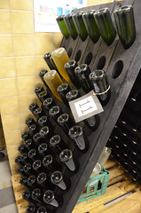Riddling vintage 2012 (Jacob Damgaard) Tags: apple denmark wine cider rack danish horn danmark sparkling dansk riddle sparklingwine applewine riddling champagnerack horncider
